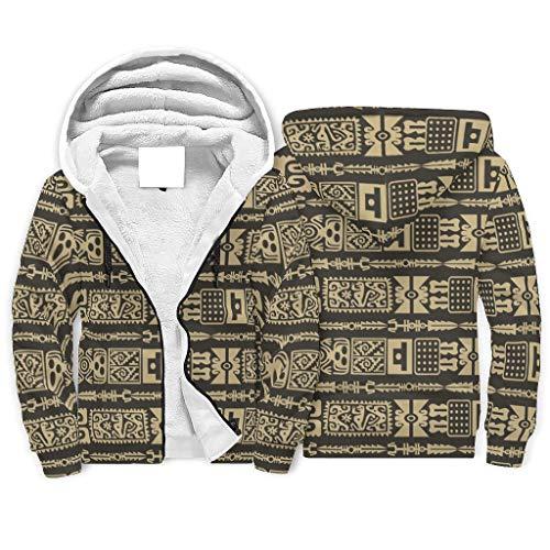 Niersensea Sudadera con capucha para niños y niñas, forro interior Sherpa, sudadera con capucha de...