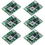ICQUANZX 6pcs MP1584EN DC-DC Buck Converter Adjustable Power Supply Module 24V to 12V 9V 5V 3V