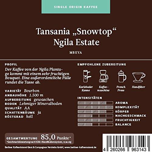 BKR | Kaffee | Tansania |
