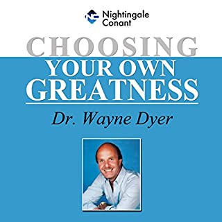 Choosing Your Own Greatness audiobook cover art