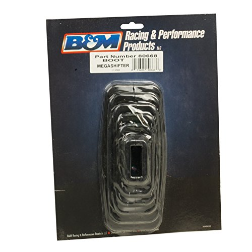 B&M 80668 Black Rubber Shifter Boot