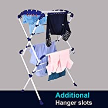 PAffy Premium Cloth Dryer Stand - Sumo - Large - Very Easy to Assemble (Lifetime Warranty * Made in India)