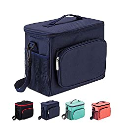 50%OFF Adult Lunch Box Insulated Lunch Bag for Men & Women, Heat-resistant Cooler Tote Bags