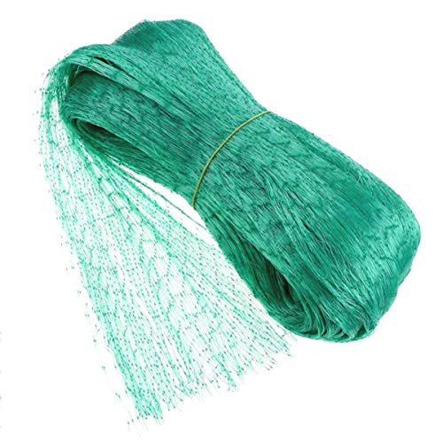 EHIOG Bird Netting, Garden Net Doesn't Tangle and Reusable Fencing Protect Fruit Vegetables from Birds Deer(13x20ft)