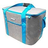 ToCi Kühltasche Groß 36 Liter Isoliertasche Thermotasche Picknicktasche für Picknick Camping Urlaub Wandern BBQ
