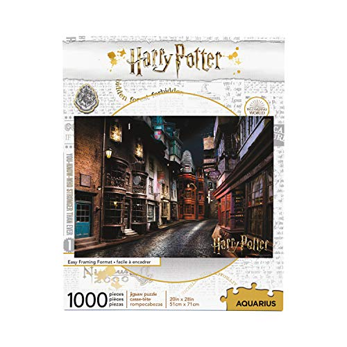 HARRY POTTER Diagon Alley 1000 Piece Jigsaw Puzzle