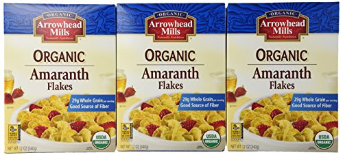 Arrowhead Mills Flakes Amaranth Org - Pack of 3 Boxes
