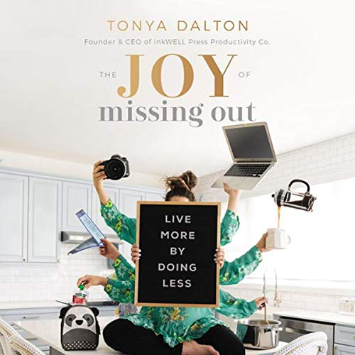 The Joy of Missing Out audiobook cover art