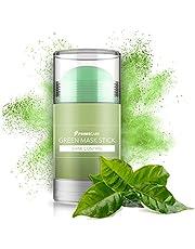 PrimeCare Green Mask Stick - Vitamine E & Glycerine Gezichtsmasker - 4 cm x 4 cm x 8 cm - Groen - 1 Stuk - Groene Thee Face Mask Huidverzorging Acne/Puistjes