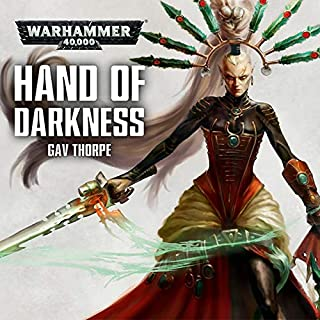 Hand of Darkness audiobook cover art