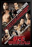 Pyramid America UFC 84Bj Penn Vs Sean Sherk Sport Poster,