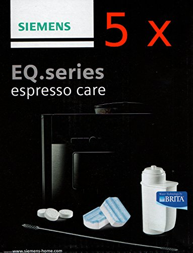 Siemens EQ.series espresso care TZ80004 Pflegeset (5er Pack)