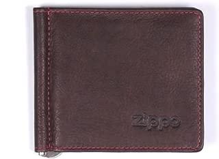 Visitenkartentasche von ZIPPO in Leder Braun Scheckkarten Ausweis Führerschein