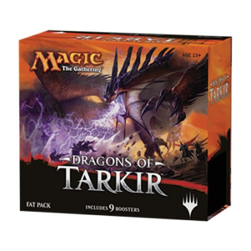 Magic The Gathering MTG-DTK-FP-EN - Dragons of Tarkir Fat Pack, English