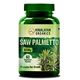 Himalayan Organics Saw Palmetto Extract Capsules for Hair Growth | 800Mg | 60