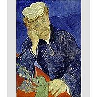 WOAIZJ ハイエンドの絶妙な大人の木のパズル1000ピース1500子供の教育おもちゃ世界的に有名な絵画油絵ドクターJiasheの肖像画 WOAIZJ(Size:1000pc)