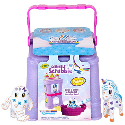 Crayola Scribble Scrubbie Peculiar Pets, Palace Playset with...