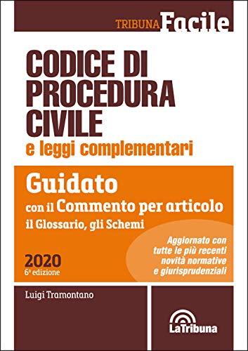 Codice di procedura civile e leggi complementari. Guidato con il commento per articolo, il glossario, gli schemi