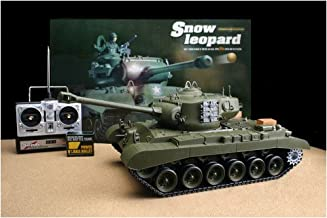 Airsoft RC Snow Leopard Battle Tank, Smoke