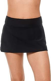 Women's Swimwear Sport Fashion Swim Skirt Bottom with Inner Brief and Inner Pocket