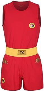 Wesing Wushu Sanda Suit Sanshou Mundurek Konkurt Szkolenie Smok Druk Sanda Set Zatwierdzony IWUF