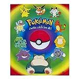 Pokemon Poster ca. 40x50 cm - Pokemon Motiv Starter Klassik