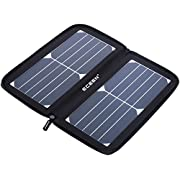 Solar Panel - ECEEN Portable Solar Charger, 10 Watts 22% High Efficiency with USB Port for iPhone, Samsung, HTC, GPS & Gopro Camera, Power Bank Etc. 5v Device