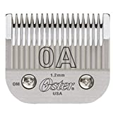 Oster Detachable Blade Size 0A Fits Classic 76, Octane, Model One, Model 10, Outlaw Clippers
