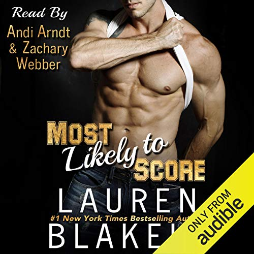 Most Likely to Score Audiobook By Lauren Blakely cover art