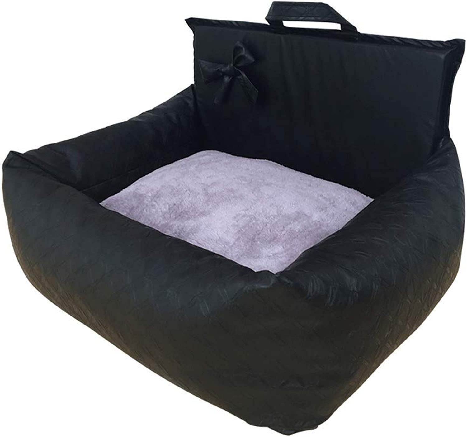 Kennel Small and Medium-Sized Dogs All Seasons Universal Removable and Washable Dual-use Car Nest (Size   53x43x32CM)