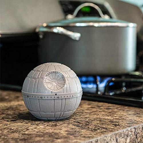Funko SW00697 Star Wars Kitchen Timer: Death Star, Grey, 10x9x10 cm