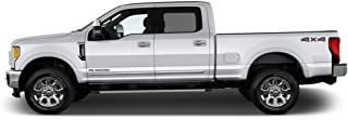 Dawn Enterprises LCM-SCC15-5455-5859 Lower Chrome Molding Compatible with Ford F-150