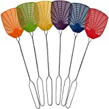 Bug & Fly Swatter – Extra Long Handle 6 Pack Fly Swatters – Indoor / Outdoor – Pest Control...