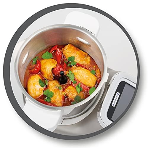 Moulinex HF900110 i-Companion Robot Multifunzione da Cucina, Connesso alla sua App Dedicata