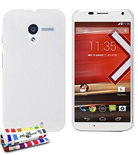 MUZZANO Protezione Ultra Sottile per Motorola Moto X, Antiurto, Elegante e Duratura