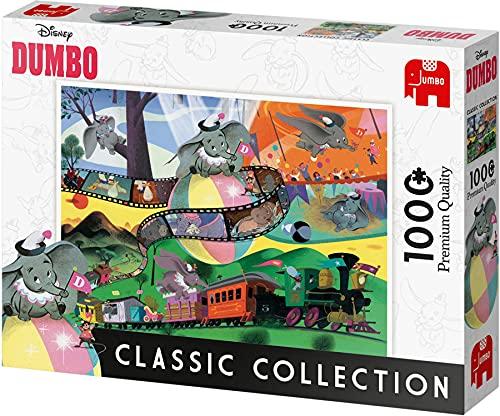 ディズニー ダンボ クラシックコレクション ジグソーパズル パズル 1000ピース Disney Dumbo 68cm x 49cm Jumbo 8248 [並行輸入品]