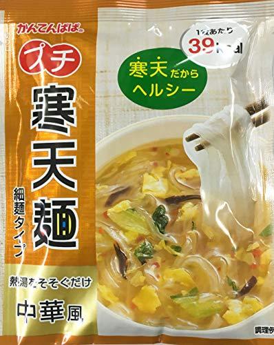 かんてんぱぱ プチ寒天麺 中華風 細麺タイプ 13.4g10袋