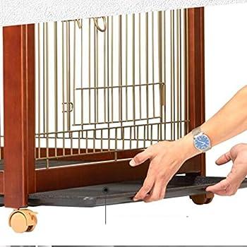 Chenils Cages Cage pour Chien Cage Chien Petit Moyen Grand Chien en Bois Massif avec Toilette nid Cage pour Chien intérieur Fournitures Universel Convenable pour 15kg Animaux Cages