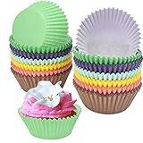 NATUCE 300PCS Papel Cupcakes, Muffin Papel Magdalenas, Capsulas para Magdalenas, Cápsulas...