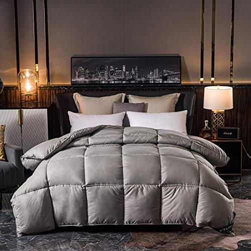CHOU DAN waterproof duvet protector single,feather duvets double Sleep recovery duvet all season hotel quality luxury hypoallergenic quilt-double/double XL 200 * 230cm 4000g
