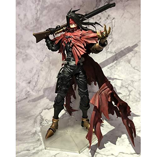 Yifuty Regalos y decoración Final Fantasy VII La elegía de Hellhound Vincent Puede Hacer el Modelo de MANANALES, la Imagen Muestra la Foto Real del Producto, Altura 276mm