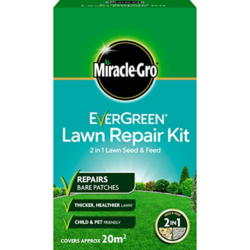 Miracle-Gro Evergreen Kit de réparation pour pelouse 1 kg - 20 m²