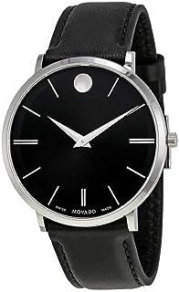 Movado Ultra Slim - 0607086 Black One Size