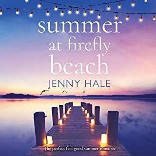Summer at Firefly Beach audiobook cover art