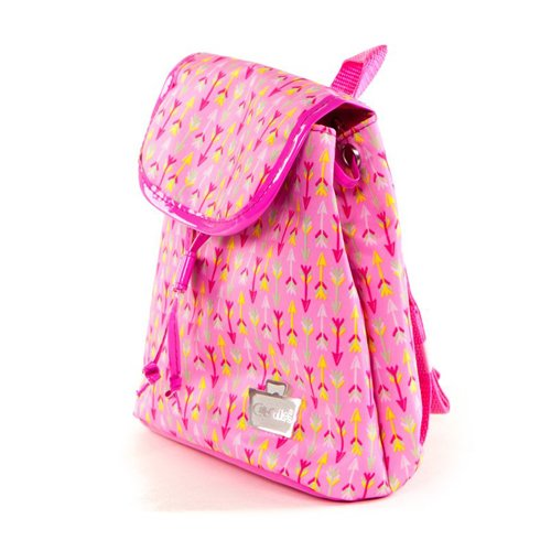 Meisjes Roze Pijl Print Mini Back Pack Teddy Bag Vakantie Rugzak Kids | Caboodles Adorbs