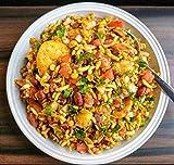 250g Instant Ready Auténtico Arroz Indio Inflado Bombay Bhel Chat Mix Bhelpuri Snack Mumbai Street Food Chatpati Dulce Tangy y Spice Bombay Mix
