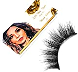 MARIAN HANNA 5D Real Mink Lashes Strip   100% Handmade   Cruelty Free   25-30 Times Reusable False Eyelashes   Wispy Eye   Dramatic   Soft   Lash Boost   Fluffy Long (Cairo)