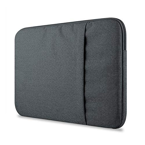 For Macbook air pro11/12/13/15 inch Mac Case Laptop Sleeves Case Bag Cover Suitable with Pocket Compatible(Gray)
