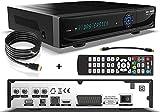 sky vision 2200 HD Ricevitore satellitare digitale con disco rigido da 1 TB (HDD, HDTV, DVB-S2, HDMI, USB 2.0, Full HD 1080p) incl. Cavo HDMI conecto®
