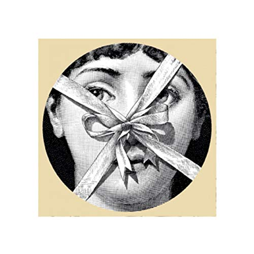 XFGZ Plaque Fornasetti D/écoration 10 Pouces Fornasetti Assiette D/écor /À La Maison Porcelaine Artwork Plaque Murale Suspendus D/écorations Haute Qualit/é Plaque